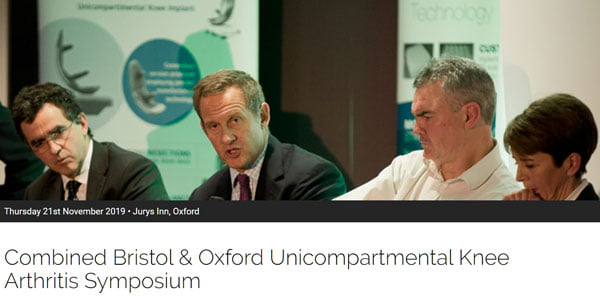 Oxford/Bristol Unicompartmental Knee Arthritis Meeting